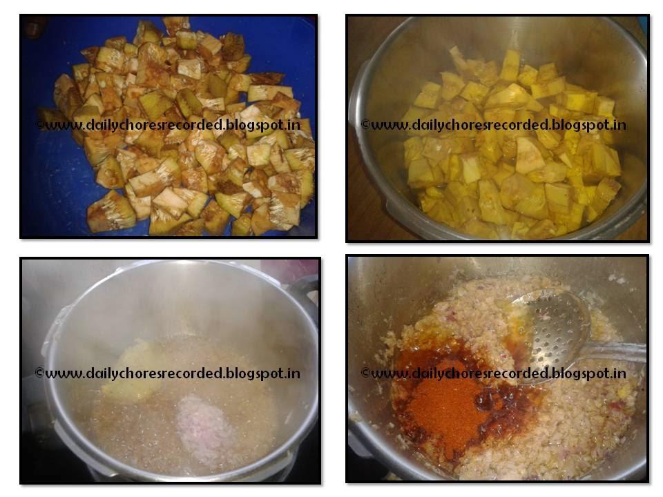 Idichakka Gravy (Jackfruit)