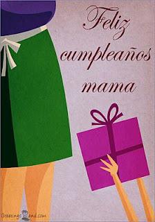 Tarjetas de Cumpleaños para Mama, parte 1