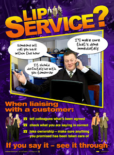 Customer service posters