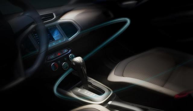 Chevrolet Prisma Automático - interior