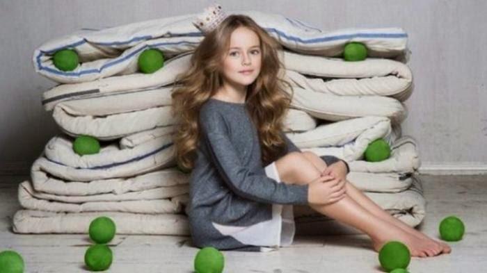 Anak Perempuan 9 Tahun Dianggap sebagai Wanita Tercantik di Dunia