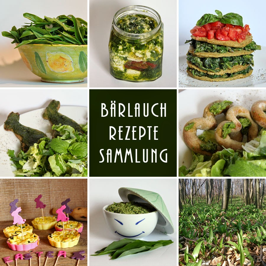 Gesammelte Bärlauch Rezepte