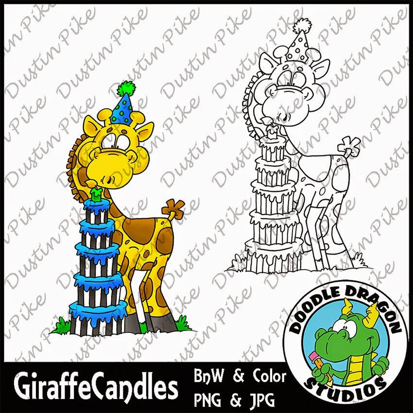 http://www.doodledragonstudios.com/digital-stamps/birthday-giraffe/prod_390.html