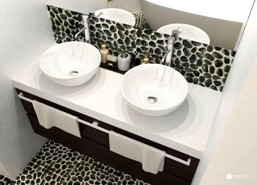 مغسل اليدين من حمام البيت