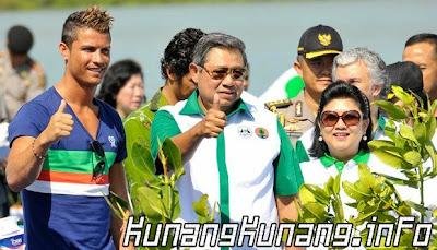 SBY dan Ronaldo Saling Follow di Twitter