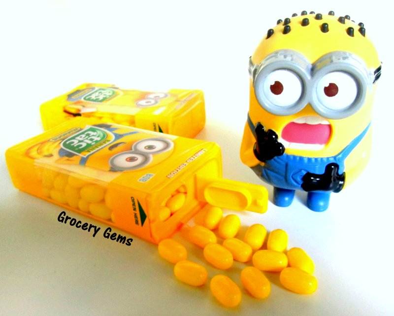 grocery gems review limited edition tic tac minions banana flavour