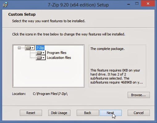 how to use 7zip to open rar files