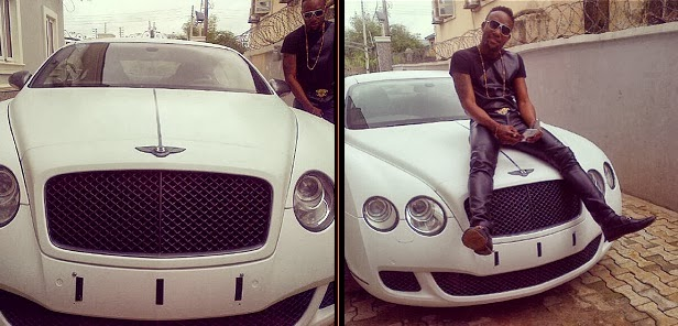 Kcee Buys a Bentley  GT coup