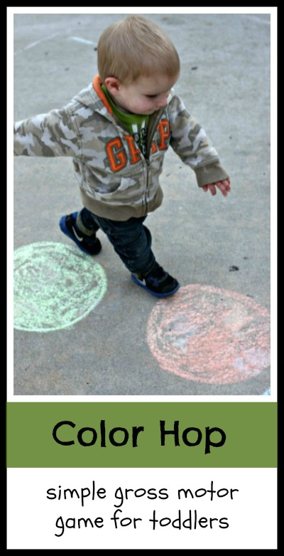 Gross motor activity for toddlers color recognition for Gross motor activities for preschoolers