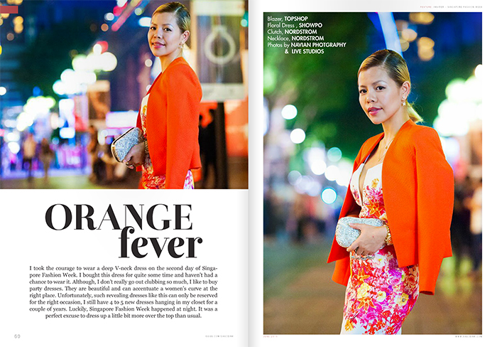 SAUCEink magazine feature Singapore Fashion Blogger- Crystal Phuong