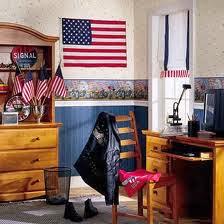 decoración dormitorio americano