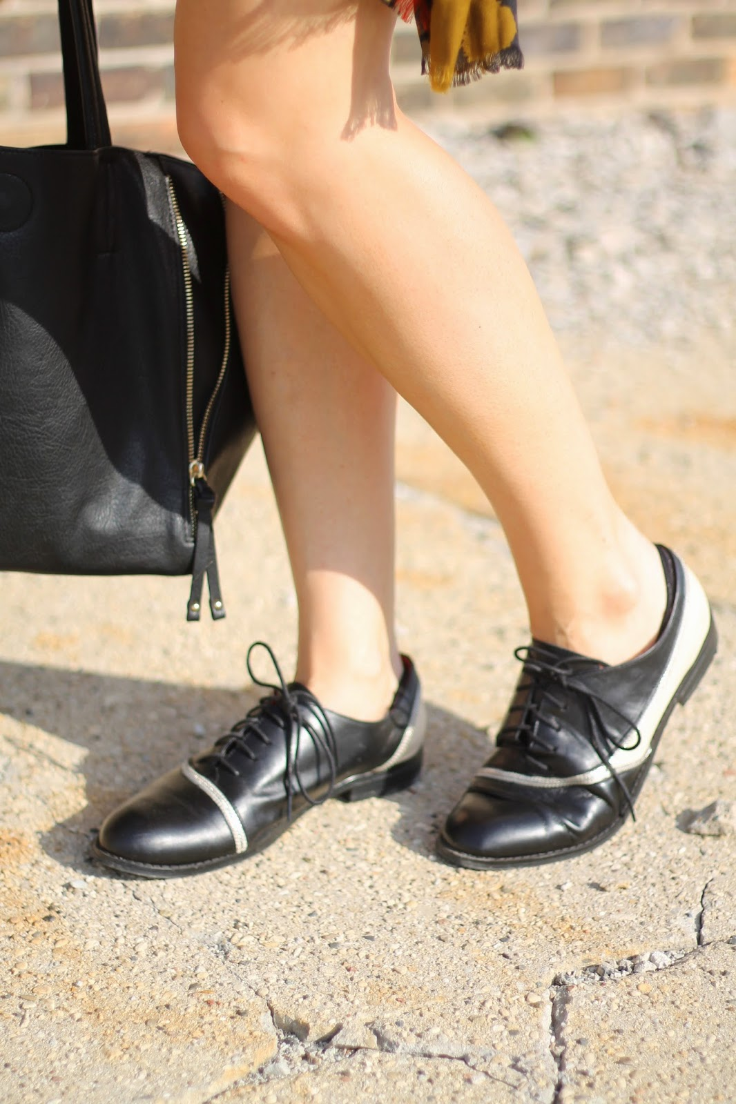 black, oxfords