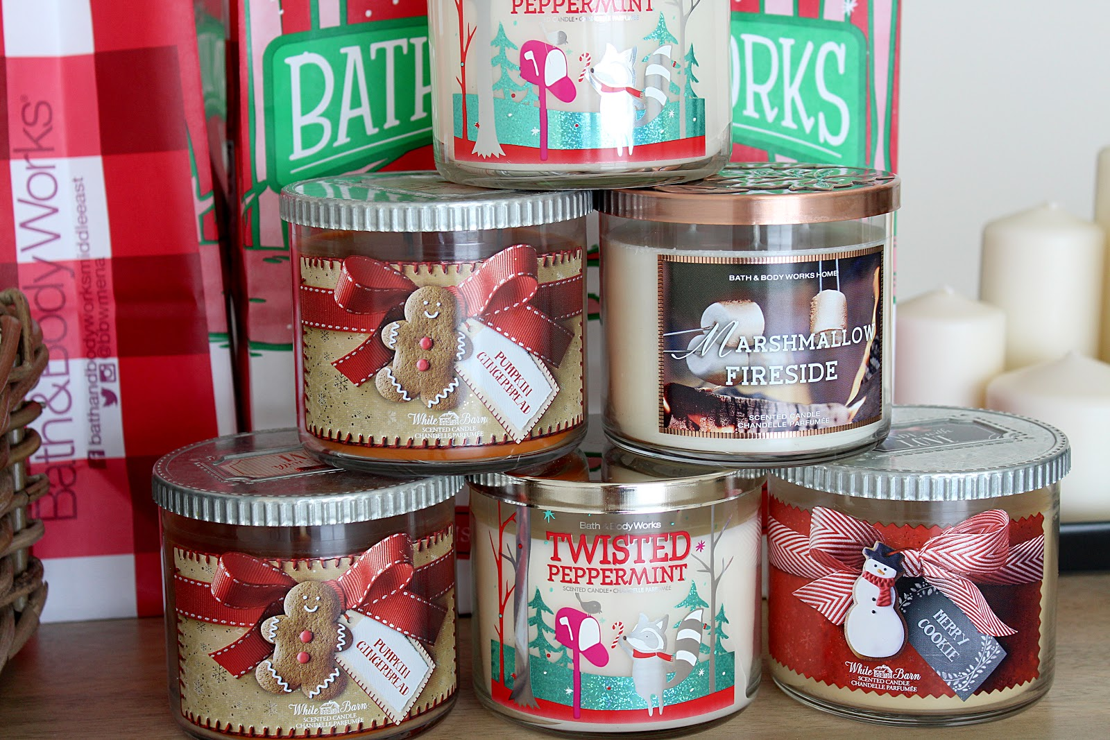 Bath & Body Works Christmas Candles Review