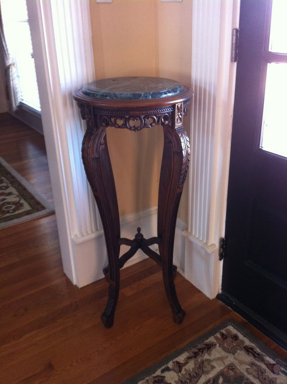 Foyer Table With Granite Top : Project campbell