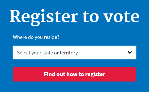 Registering for the 2018 election