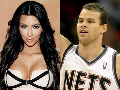 kim kardashian and kris humphries kissing. Kim Kardashian dating Kris