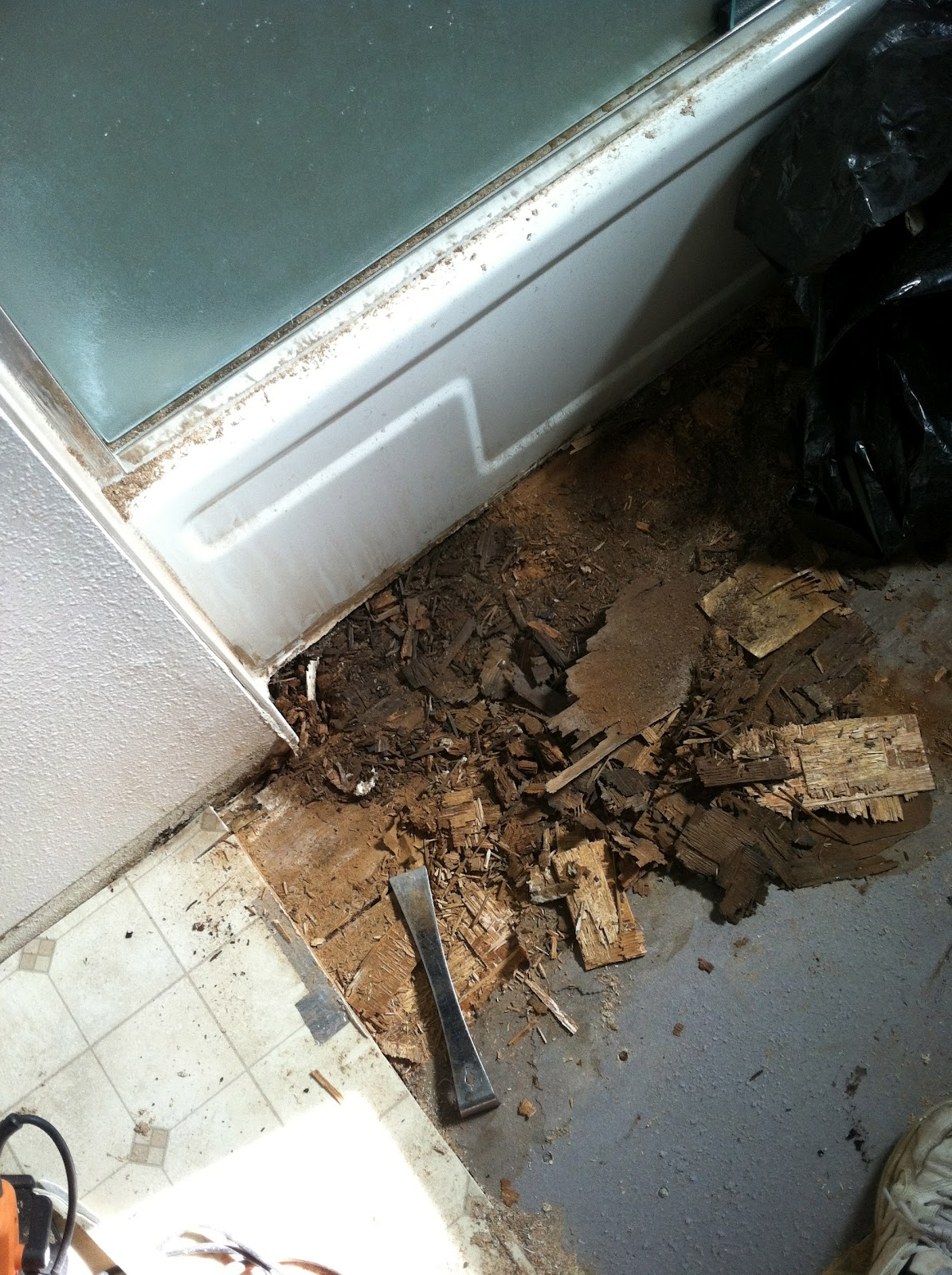 Consider It Done Construction Bathroom Dry Rot Repair