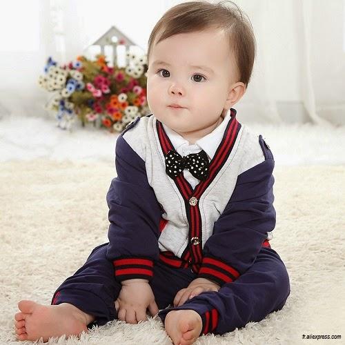 Photo bébé garçon style
