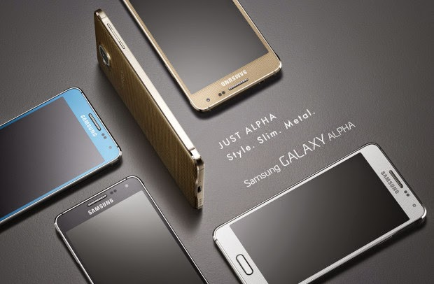 Samsung Released the New Samsung Galaxy Alpha in India
