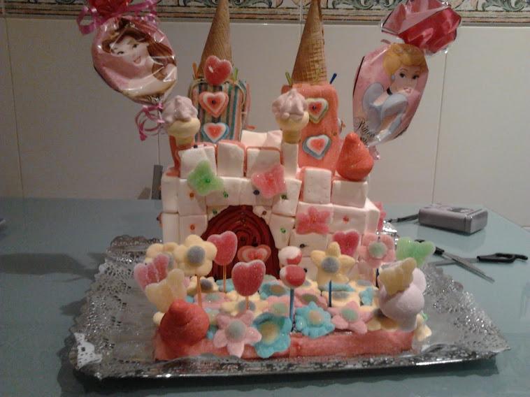Un castillo de princesas muy dulce
