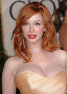 Christina Hendricks Copper hair