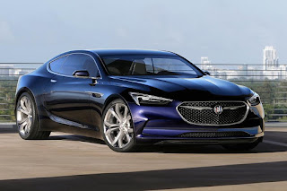 Buick Avista Concept (2016) Front Side