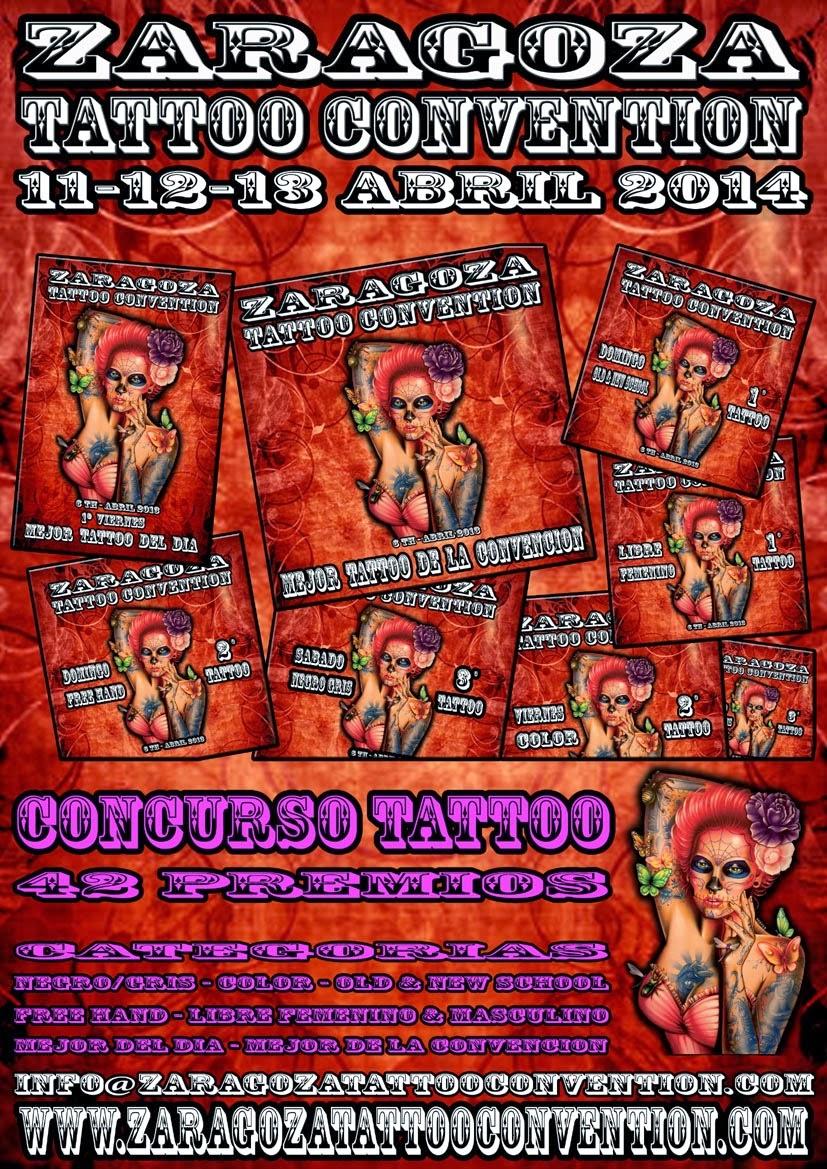 Biker excalibur ii la 6 zaragoza tattoo convention se for La tattoo convention