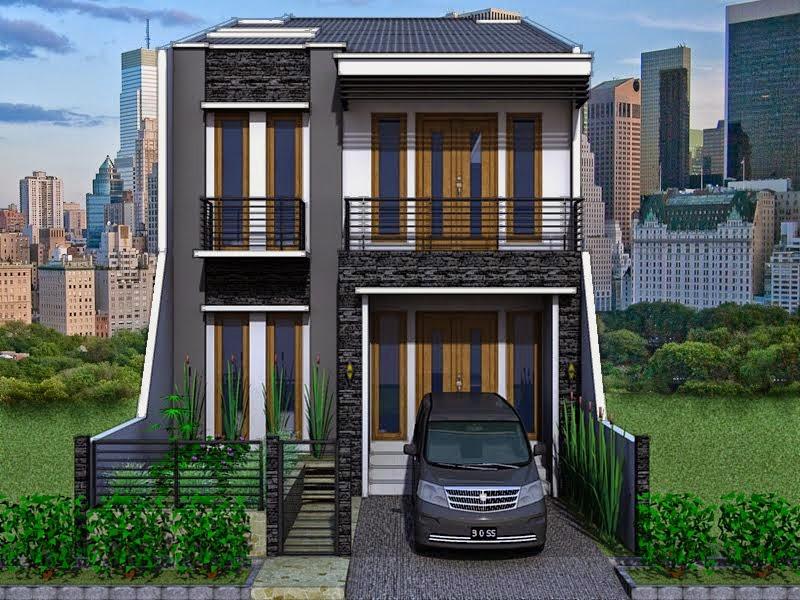 model rumah tingkat minimalis, contoh rumah tingkat minimalis