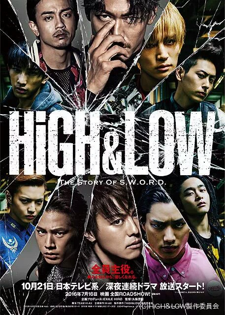 High & Low – The Story of Sword Subtitle Indonesia | Anime 21