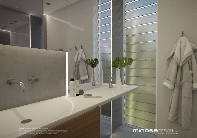 Minosa a main bathroom to share for Bathroom zone 3