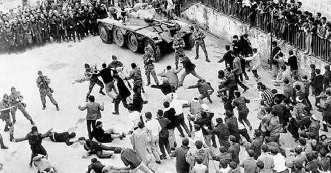 a review of the battle of algiers by gillo pontecorvo The battle of algiers is a 1966 film by gillo pontecorvo, and is a dramatization of  the algerian war of independence the story begins with ali la pointe, a.