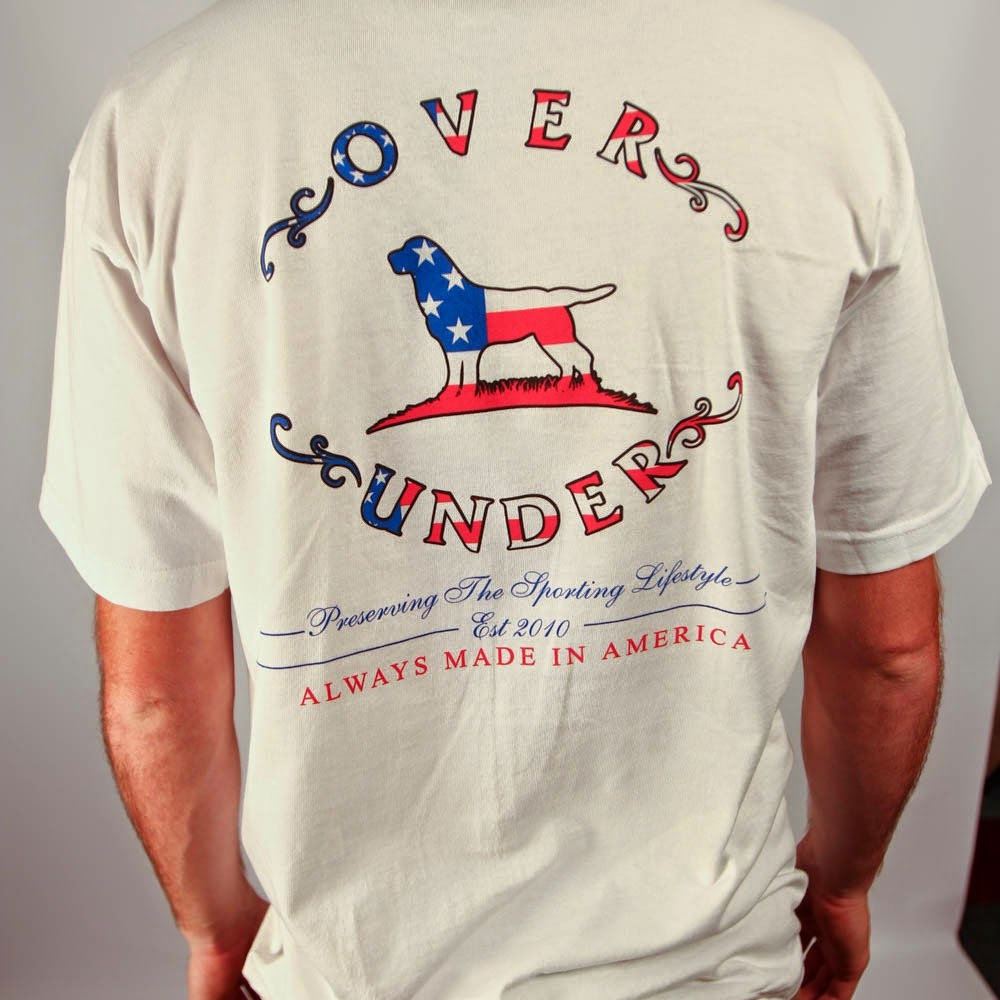 """Over and Under Clothing """"Tried and True""""  Tee"""