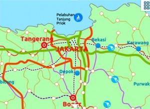 Peta Mudik Terbaru Lengkap 2012 Wilayah Sumatera, Jawa, Dan Bali