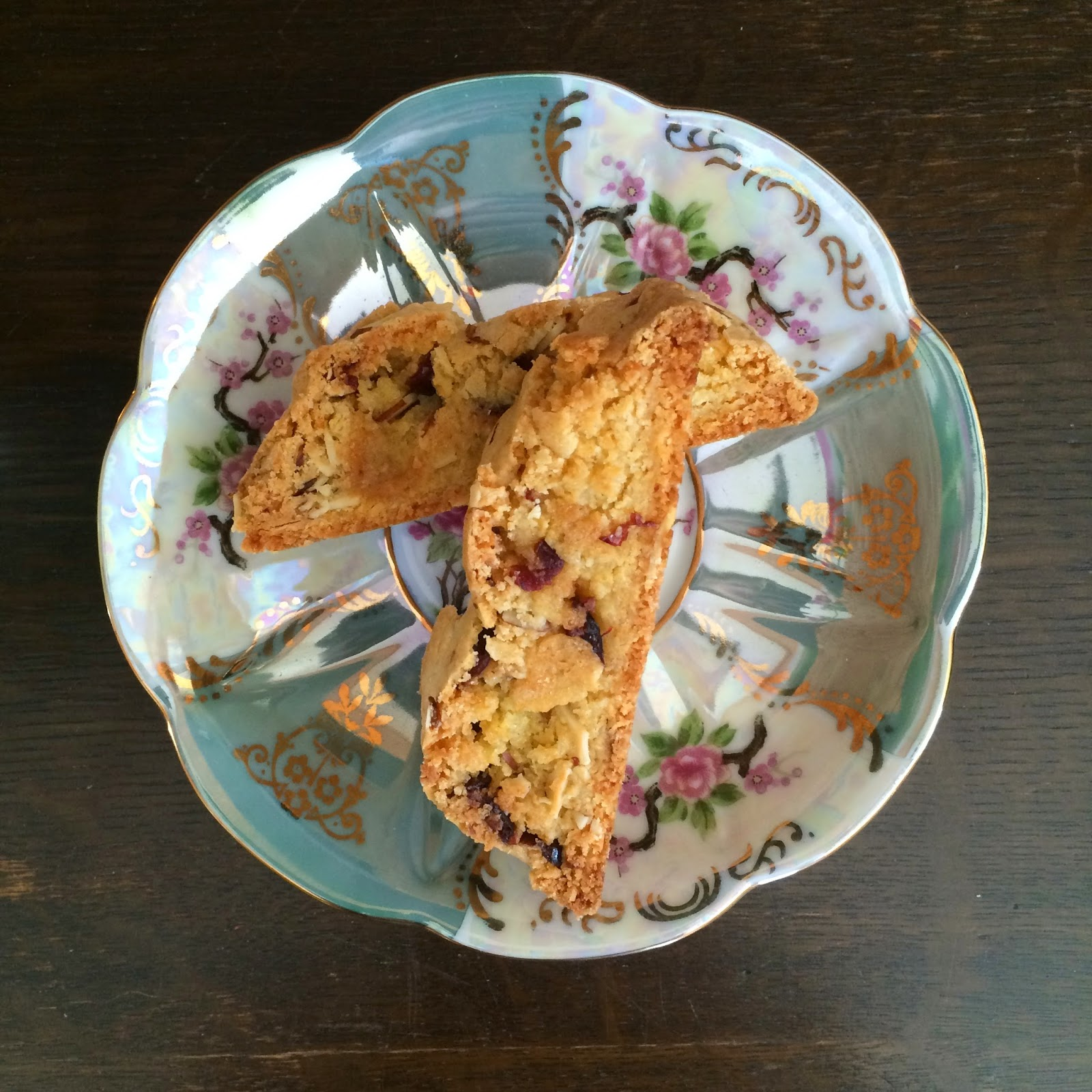 Almond Cranberry Biscotti, Recipe, Tasty Tuesday, Breakfast