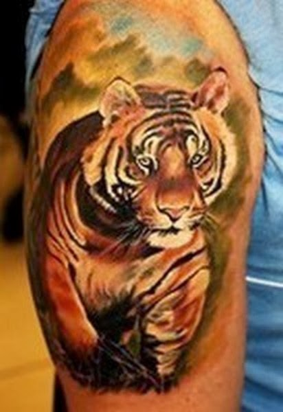 Best Animal Tattoos, Best Tiger Tattoos