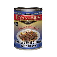 Hand Packed Dog Food Braised Beef