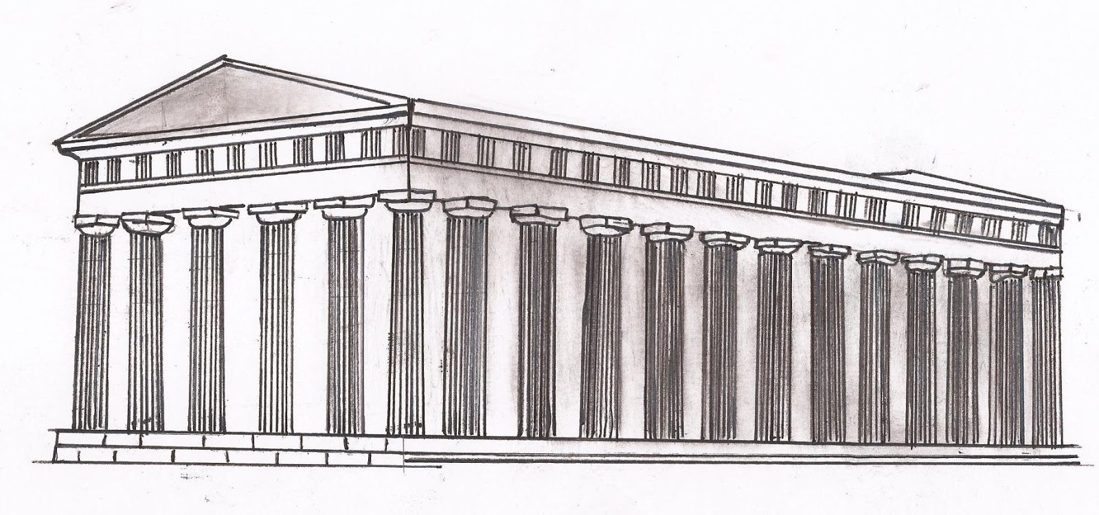Arquitectura griega resumen de arquitectura for Arquitectura de grecia
