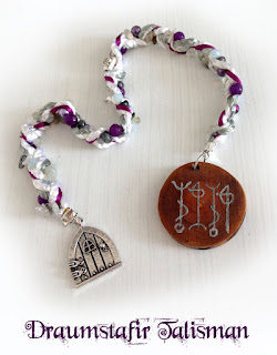Draumstafir Talisman - icelandic magical stave from Moonscrafts )0