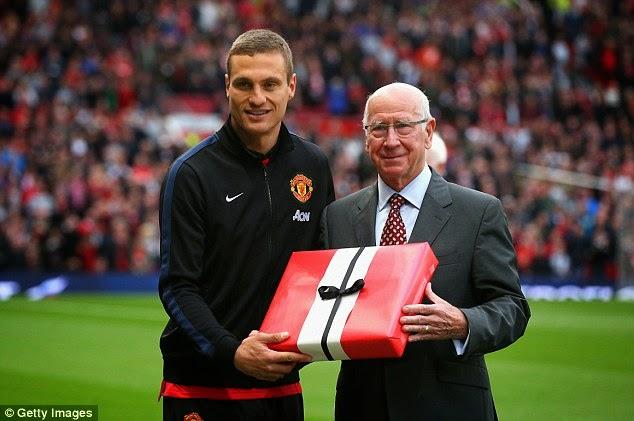 Manchester United di hati : Nemanja Vidic