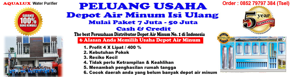 085279797384, Depot Air Minum Isi Ulang Aqualux Kendal