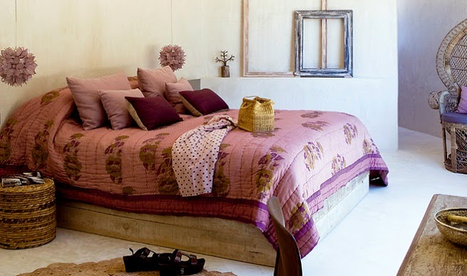 Hippie hour hippie deco dormitorio boho - Estilo boho chic decoracion ...