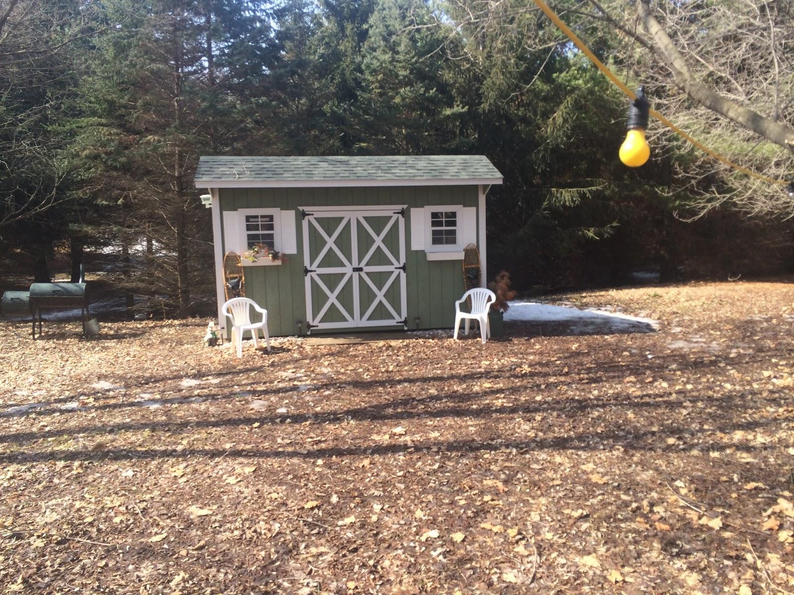 a tiny backyard pub
