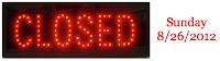 Closed 8 26 2012
