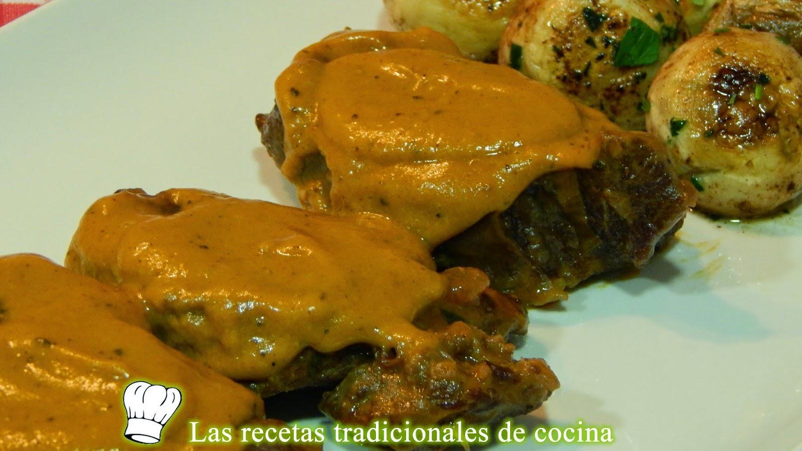 Carrilleras de ternera en salsa