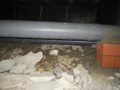 Condensación sobre tubo de PVC