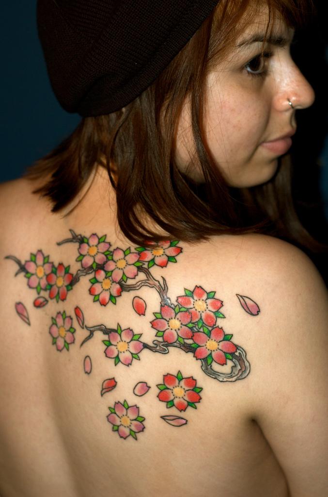 my tattoo designs cherry blossom tree tattoo. Black Bedroom Furniture Sets. Home Design Ideas