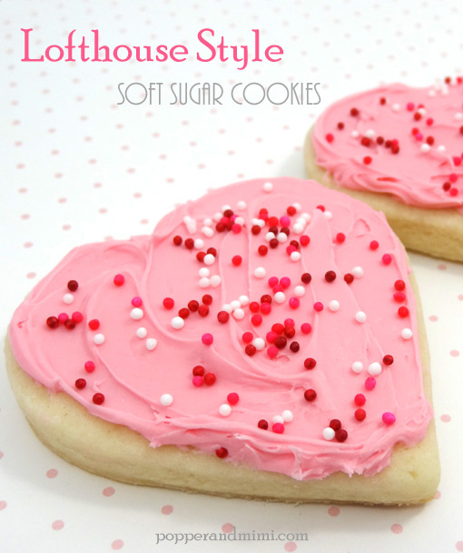 Lofthouse Style Sugar Cookies | popperandmimi.com