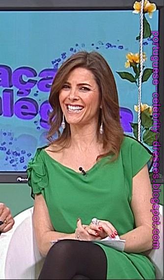 """PORTUGUESE CELEBRITY DRESSES: SÓNIA ARAÚJO - """"PRAÇA DA ..."""