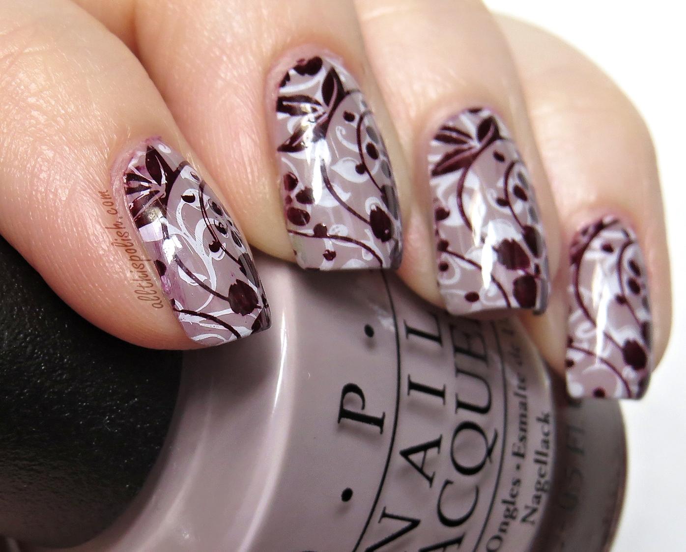 Animal Print Nails Alo...