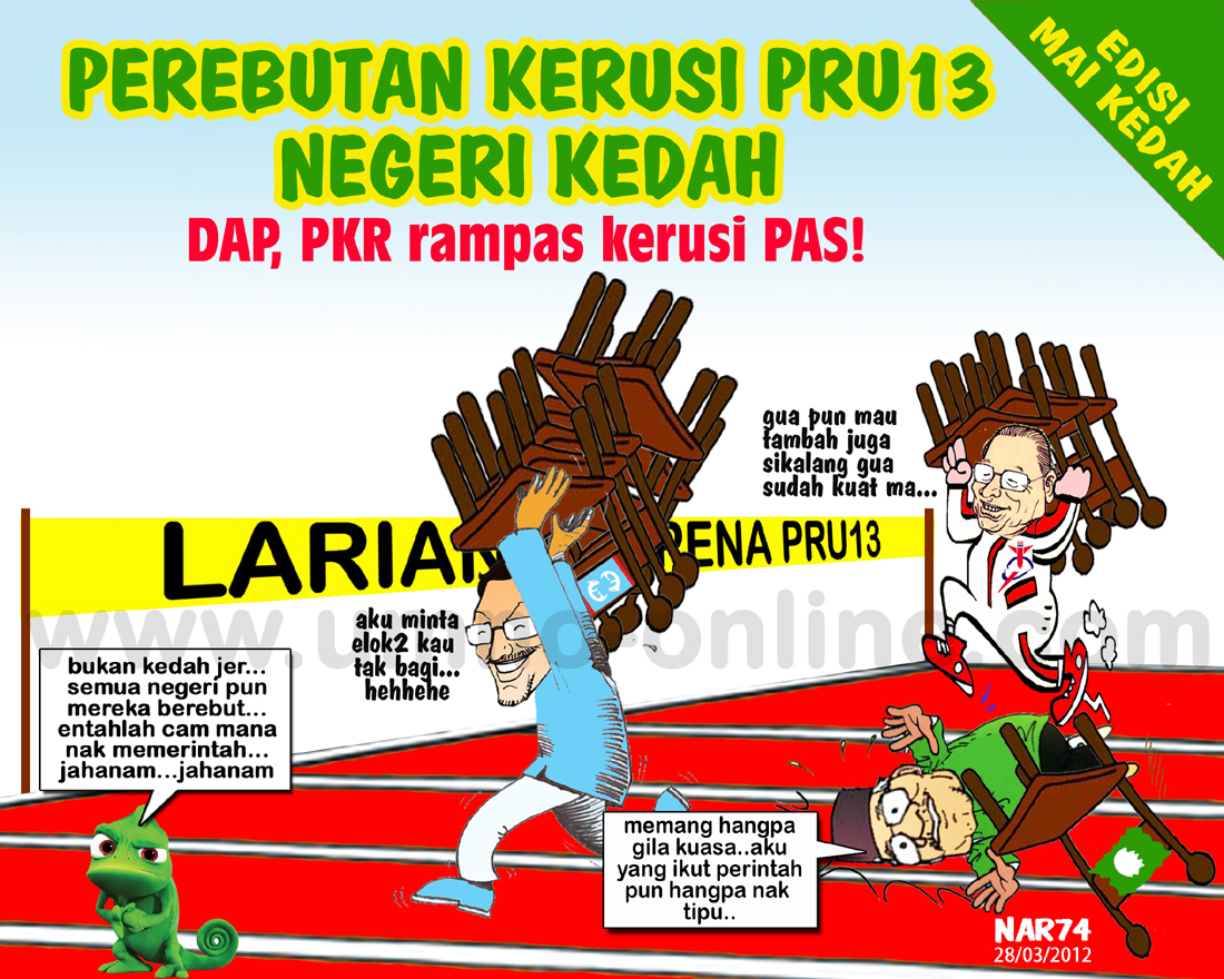 Kedah Contoh Terbaik Betapa Pembangkang Adalah Pakatan Rebut Kerusi